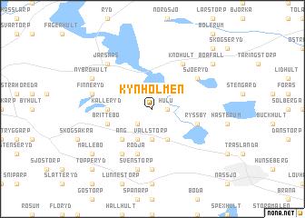 map of Kynholmen