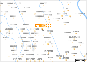 map of Kyokhodo
