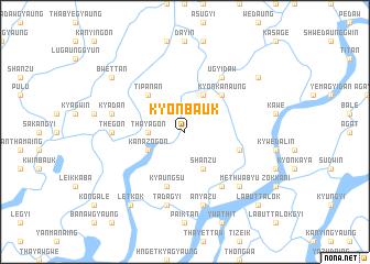 map of Kyonbauk
