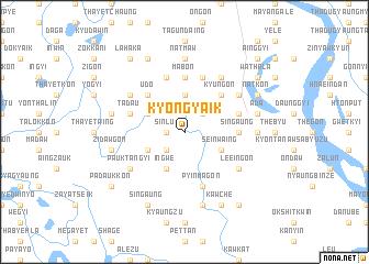 map of Kyongyaik