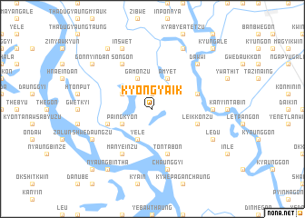 map of Kyongyaik