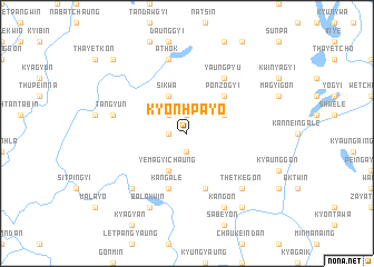 map of Kyonhpayo