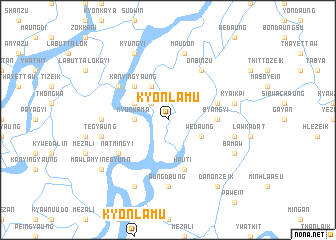 map of Kyônlamu