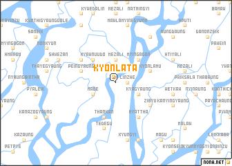 map of Kyônlatā