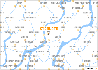 map of Kyonlata