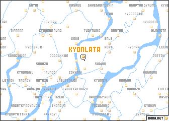 map of Kyonlata