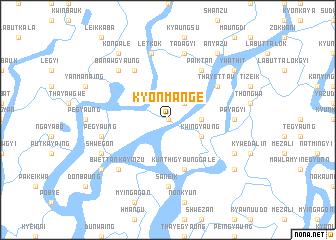 map of Kyonmange
