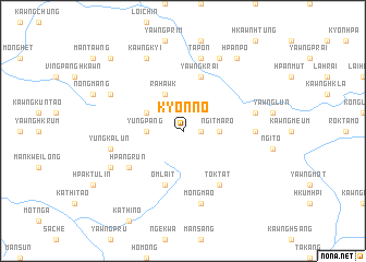 map of Kyonno