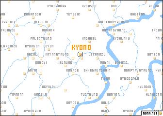map of Kyon-o