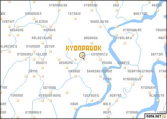 map of Kyonpadok