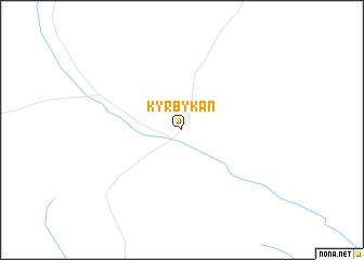 map of Kyrbykan