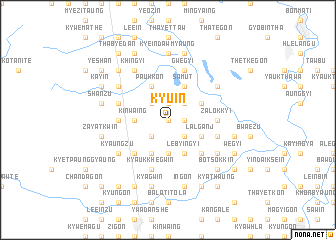 map of Kyu-in