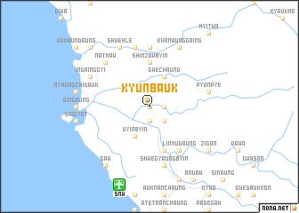 map of Kyunbauk