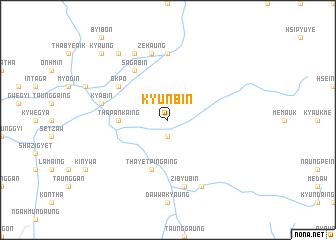 map of Kyun-bin
