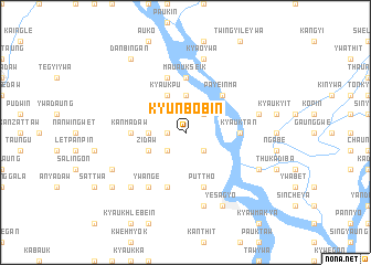 map of Kyunbobin