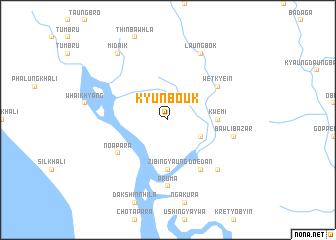 map of Kyunbouk