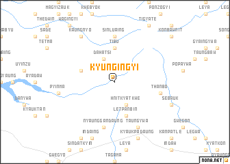 map of Kyungingyi