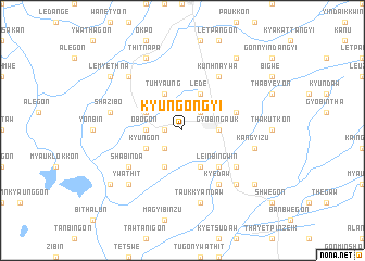 map of Kyungongyi