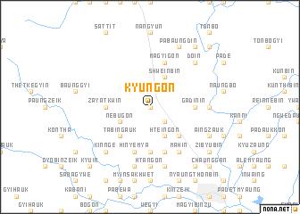 map of Kyungon