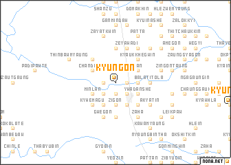 map of Kyungon