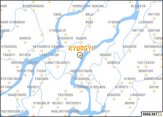 map of Kyungyi