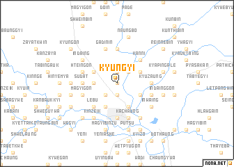 map of Kyungyi