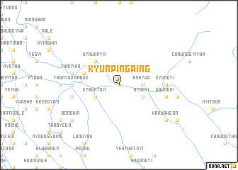 map of Kyunpingaing