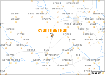 map of Kyuntabetkon