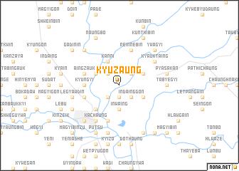 map of Kyuzaung