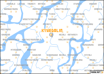 map of Kywēdalin