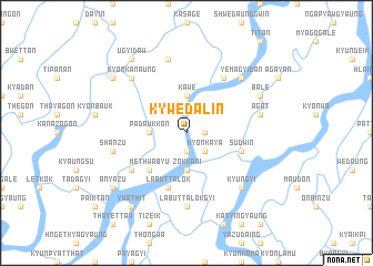 map of Kywedalin