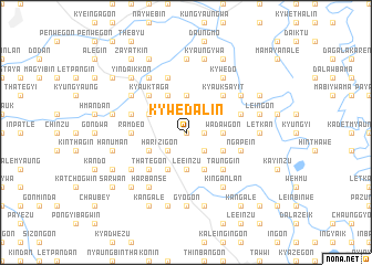 map of Kywedalin