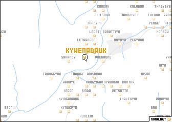 map of Kywenadauk