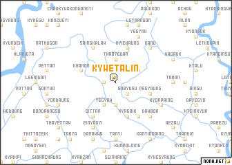 map of Kywetalin