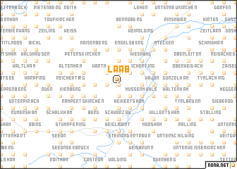 map of Laab