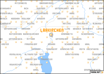map of Laakirchen