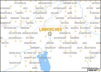 map of Laakirchen