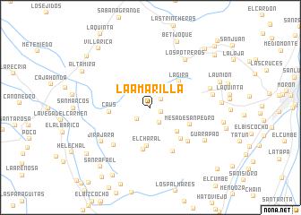 map of La Amarilla
