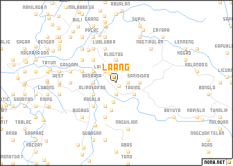 map of La-Ang