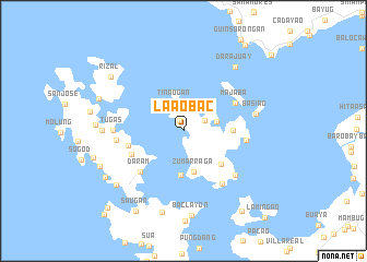 map of Laaobac
