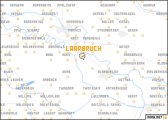 map of Laarbruch