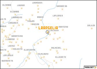 map of La Argelia