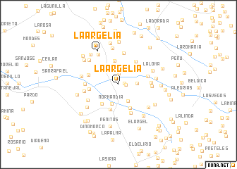 map of La Argelia