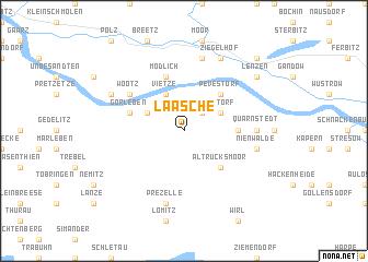 map of Laasche
