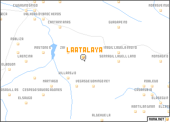 map of La Atalaya