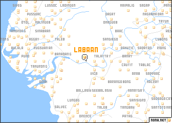 map of Labaan