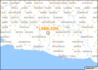 map of La Baleine
