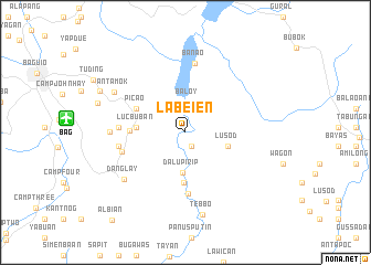 map of Labeien