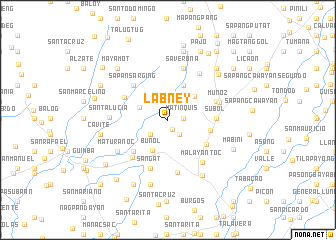 map of Labney