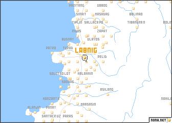 map of Labnig